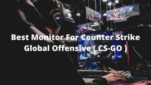 best monitor for counter strike global offensive