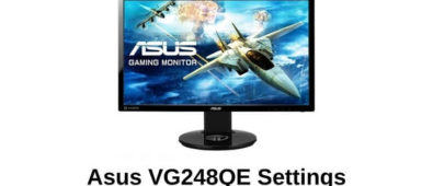 Asus VG248QE Settings And Color Profiles