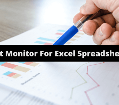 Best Monitor For Excel Spreadsheets