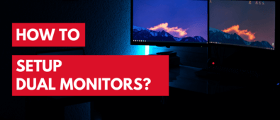 how to setup dual monitors