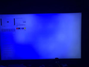 Blue Tint On Monitor